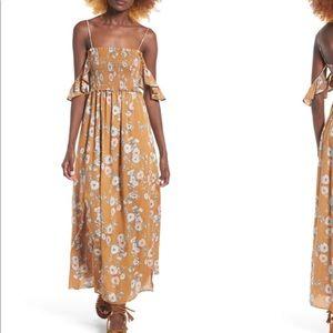 ASTR THE LABEL Gauze Maxi Dress